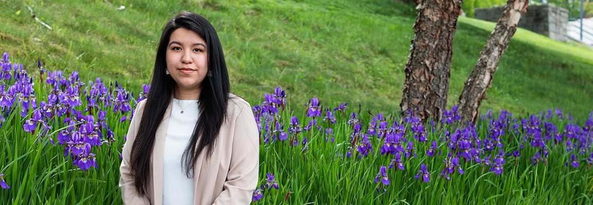 Nataly Jimenez, from High Point, is an Appalachian State University Honors College senior majoring in sociology-criminology, deviance and law, with a minor in psychology. After graduation, she plans to attend law school and become an immigration lawyer.