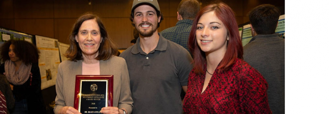 Undergraduate Research Mentorship Excellence Award awarded