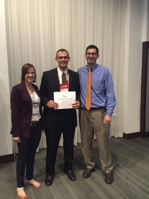 Gurchiek Wins ACSM Biomechanics Interest Group Student Research Award